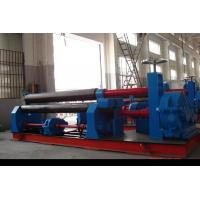 Best Three Roller Plate Roll Bending Machine Mechanical Symmetrical 245Mpa wholesale
