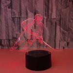 Best 7 Color Creative Gift Acrylic Manufacturer Wholesale Hockey Night Light Novelty Led 3d Kids Lamp wholesale