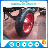 Best Centered Hub Heavy Duty Pneumatic Wheels 14X4 Ball Bearing For Air Compressor wholesale