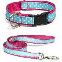 Best Pink Dog Collar and Leash (A37126) wholesale