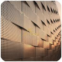 Quality Perforated metal Sheet, aluminum laser cut art panel for facade and architect Project wholesale