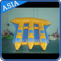Quality Exciting Inflatable Flying Fish Boat 6 Person Motorized Inflatable Water Boat wholesale