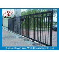 Best Professional Automatic Sliding Gates Galvanized Pipe Material 1m Height wholesale