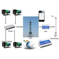 China Street Lamps Rtu Remote Terminal Unit , GPRS Automatic Gsm Remote Controller on sale