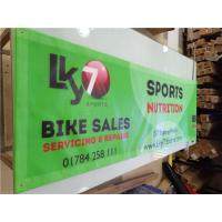 Cheap Custom Fabric Advertising Banners for sale