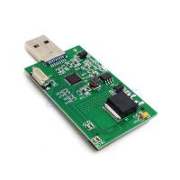 "Best 1.8 ""Mini PCI-E mSATA USB3.0 Adapter Card Conveter externe SSD PCBA carte HG wholesale"