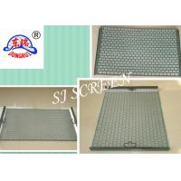 Buy cheap Waved Shaker Screen Mesh / Oilfield Screens 2 Layer 304 Stainless Steel Material from wholesalers