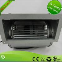 Best High Efficiency AC Double Inlet Centrifugal Fans Blower For Heat Recovery wholesale