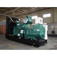 China Electronic Cummins Diesel Generators With Water Cooling, 800KW, 3 phase,50HZ,open type on sale