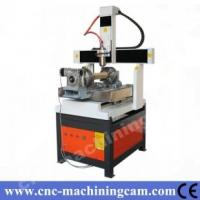 Best Mach3 4th axies metal cnc router ZK-6060(600*600*350mm) wholesale