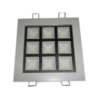 Best 9W square LED downlight in living room used and KTV and shop used wholesale