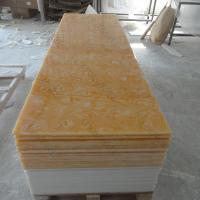 China Composite Solid Surface Decorative Translucent Resin Panel For Wall Panel 3050*760mm on sale