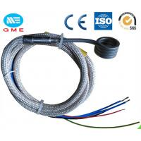 Quality 3.0X3.0mm spring enail hot runner coil heater with thermocouple J, K wholesale