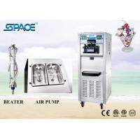 Best Air Pump Soft Serve Freezer Frozen Yogurt Ice Cream Maker With Casters 6250A wholesale