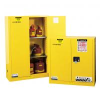 Cheap Flammable Liquid Storage Cabinet, fireproof safety storage cabinets, yellow for sale