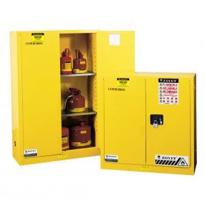 Cheap Flammable Liquid Storage Cabinet, fireproof safety storage cabinets, yellow cabinetst for sale