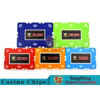 Best 12g Leaf Design Clay Poker Chip With Custom Sticker 760 PCS With Aluminum Casio Case wholesale