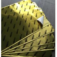 Quality Flame Retardant Aluminum Foil Butyl Vehicle Noise Dampening Material Waterproof wholesale