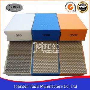 China Resin Hand Diamond Polishing Pads , Smoothing Out Irregular Surfaces on sale
