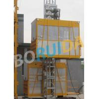 Best Ramp Door Style Construction Material Lifting Hoist , Construction Lifting Equipment wholesale