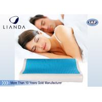 Best Visco rectangle Cooling Gel Pillow , wave summer cooling gel memory pillow wholesale