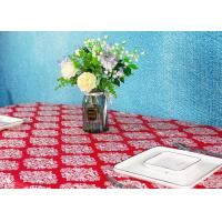 Best Wedding / Birthdays Disposable Table Cloths , Printed Disposable Table Covers wholesale