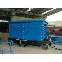 Best High quality 12m Height Mobile Hydraulic Scissor Work Lift Table wholesale