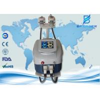 Non Surgical Cryolipolysis Fat Freezing Machine 2 Handles Work Together For Body Shaping