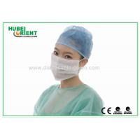 Best ESD 3 Ply Face Mask White Anti Static disposable dust masks with Ear Loop wholesale