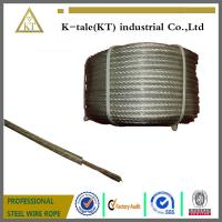 Best 7x19 PVC coated steel wire rope steel wire wholesale