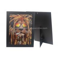 Cheap 3D Picture Paper Frame Lenticular Printing Services PET Custom Design Stand Or Hang Decoration for sale