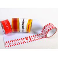 China Colored Tough Custom Printed Packing Tape For Marking / Sealing on sale