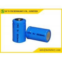 China CR2 3 Volt Lithium Battery / Lithium Primary Battery Low Self Discharge Rate on sale