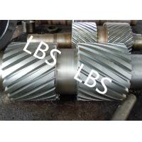 Best Precision Custom Double Helix Gear Shaft With Retracting Groove wholesale