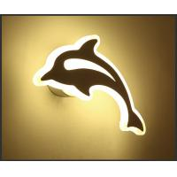 Best dolphin economic price Acrylic LED wall light /indoor led wall lamp for zoo wholesale