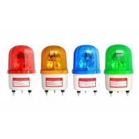China Red Green Blue Rotating Warning Light Alarm LED Flash With Sound 90dB 220V 12V on sale