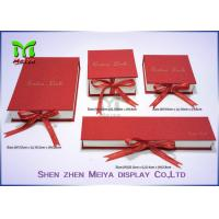 Best Paper Board Printed Custom Gift Packaging Boxes , earring / apparel gift boxes wholesale