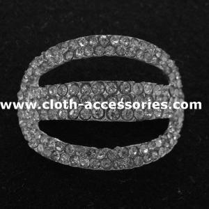 Wedding Garment Metal Rhinestone Buckles Handmade with 3D Plated