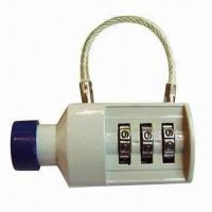 Best 3 digits bottle shape combination padlock, made of zinc alloy wholesale