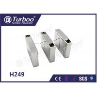 Best 1.5mm stainless steel  high integrated  speed flap barrier gate  5 pairs of infrared sensors wholesale