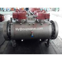 Best Double Block and Bleed Ball Valve Forged Steel A105 for Petrochemicha wholesale