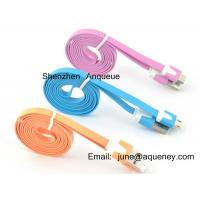Best Apple Mobile Phone Noodle cable, micro usb cable for Samsung, Iphone wholesale