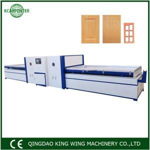 Best Good quality low price membrane vacuum press machine for making pvc doors wholesale