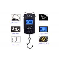 Best High Precision Travel Bag Weight Scale , Blue Backlit Hand Luggage Scale wholesale