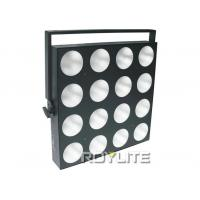 Best high power 45 degree beam angle stage blinder lights , 16pcs 30w RGB 3 in 1 LEDs wholesale