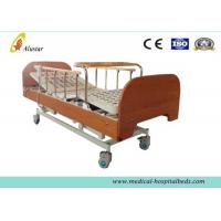 Best Three-function Electric Medical Hospital Beds , Home Care Bed with Bumper Dinning Table (ALS-HE003) wholesale