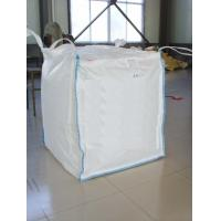 Best FIBC 100% Pure Pp Material Ton Bag , Jumbo Plastic Bag With Baffle wholesale