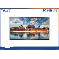 Quality 49 Inch narrow bezel lcd Video Wall Displays vga hdmi dvi with video wall controller wholesale