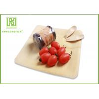 Best Healthy Bamboo Sushi Plate , Compostable Bamboo Plates And Bowls With Logo wholesale