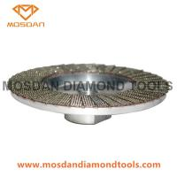 Cheap 4 Inch Aluminum Based Electroplated Diamond Flap Disc for sale
